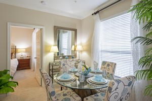 Two Bedroom Apartments for Rent in Northwest Houston, TX - Model Dining Room